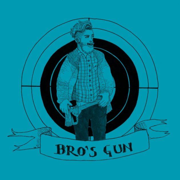 Bro's Gun Illustration